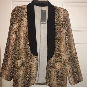 NBW Nastygal cheetah blazer Size M brand new!!